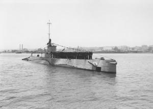 USN submarine S-33, ca. 1940s.